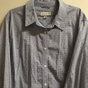 Pin Holes Button Down Shirt!